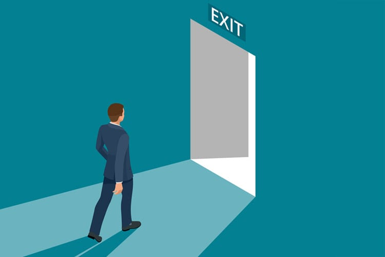 Why do real estate agents leave their brokers?