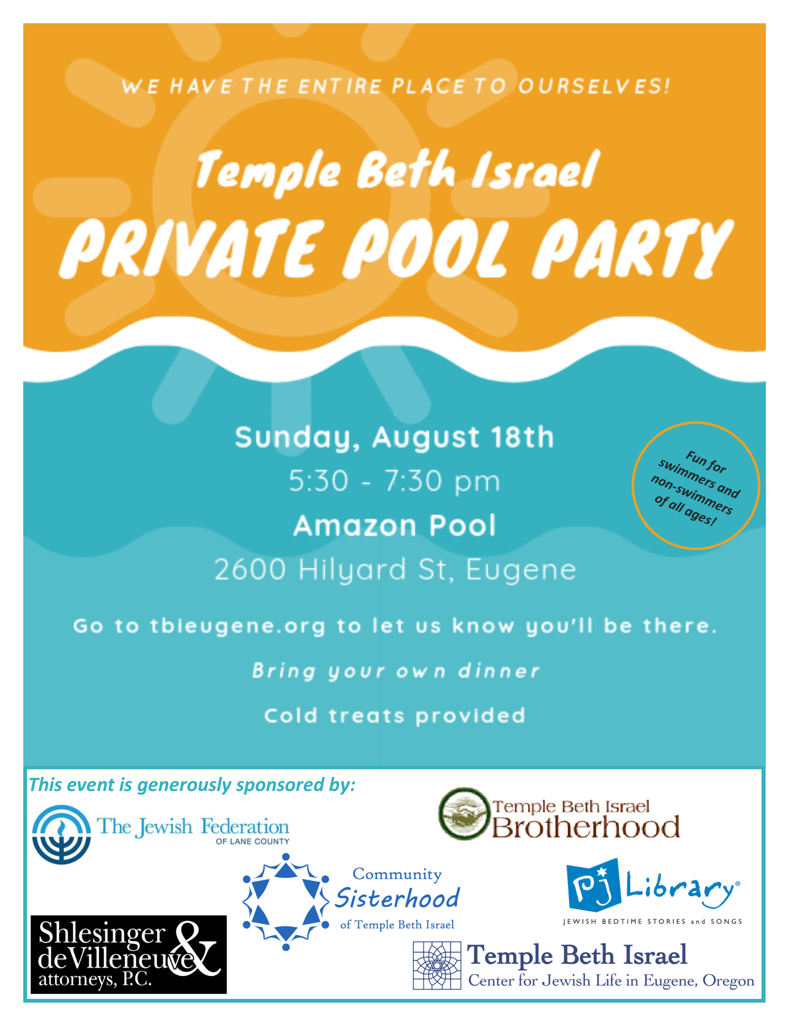 Temple Beth Israel – Center for Jewish Life in Eugene, Oregon