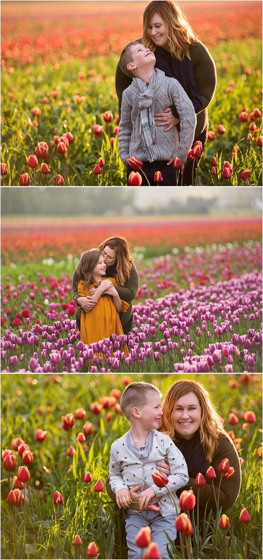 Abbotsford Photographer Family Children Tulip Farm Sunset The G Family 2016 008 (Side 8)