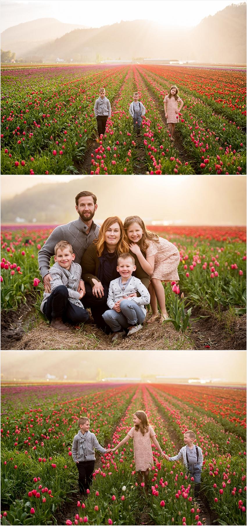 Abbotsford Photographer Family Children Tulip Farm Sunset The G Family 2016 009 (Side 9)