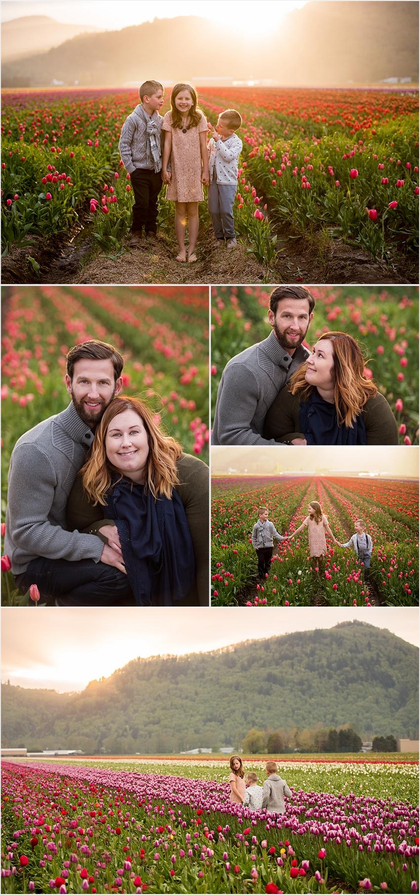 Abbotsford Photographer Family Children Tulip Farm Sunset The G Family 2016 010 (Side 10)