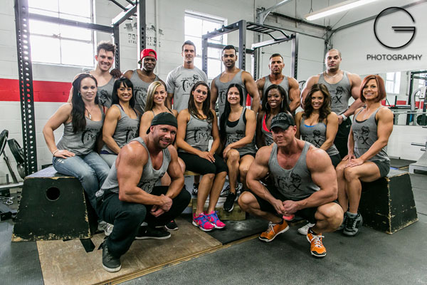 Team T-Rex Coaches and Athletes