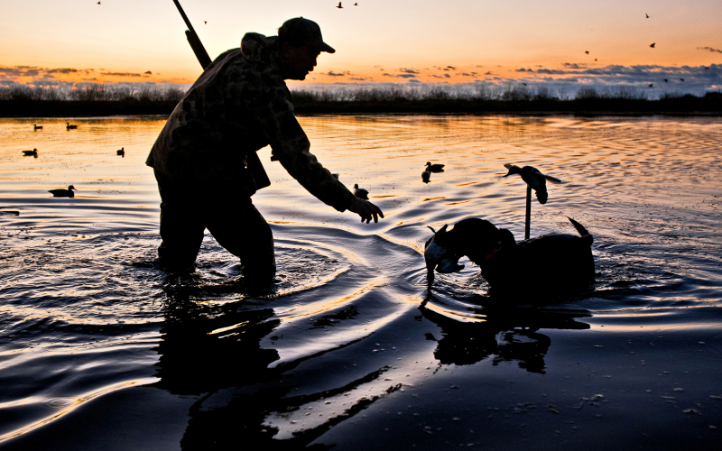 Barre Family DU Pond Hunt