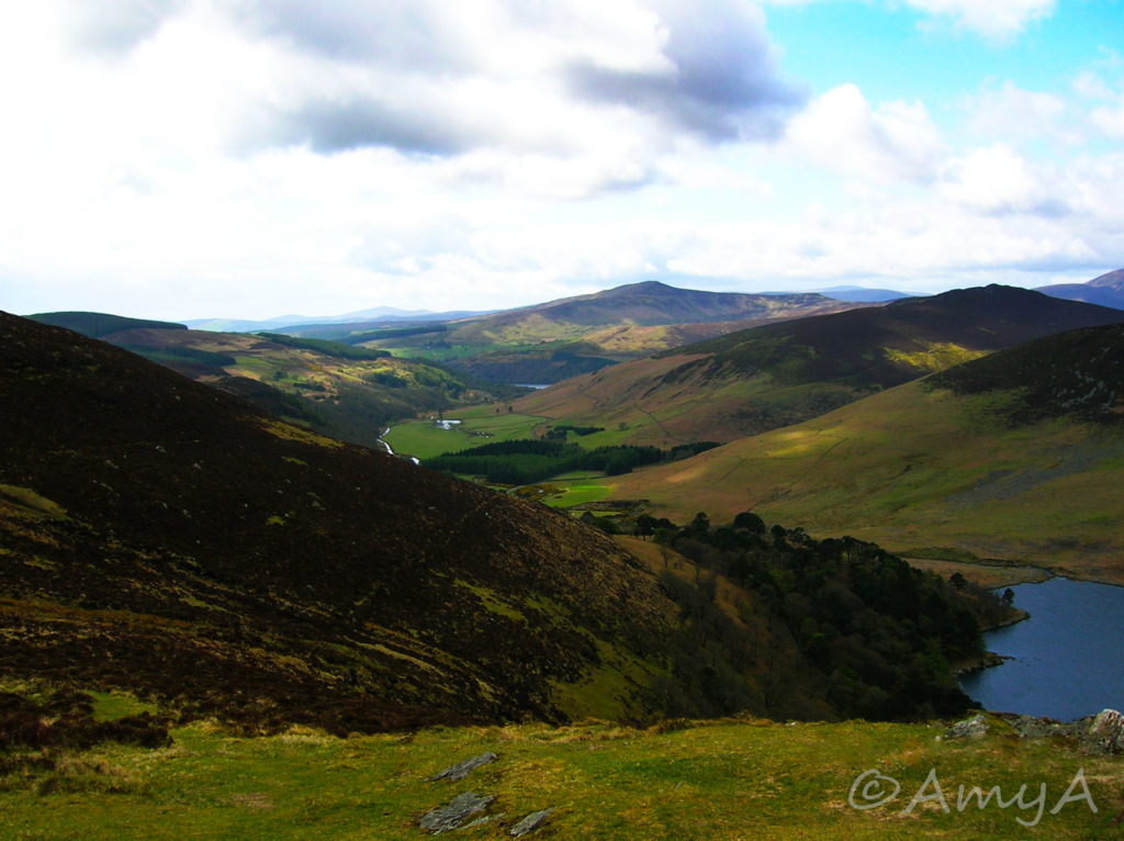 Wicklow, Ireland. Apparently they've shot many movies here! Including Braveheart, if I remember correctly.