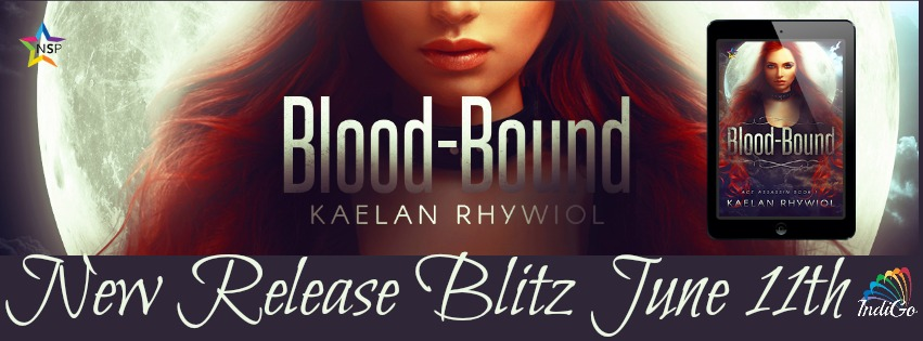 Release Blitz & Giveaway: Kaelan Rhywiol's Blood-Bound
