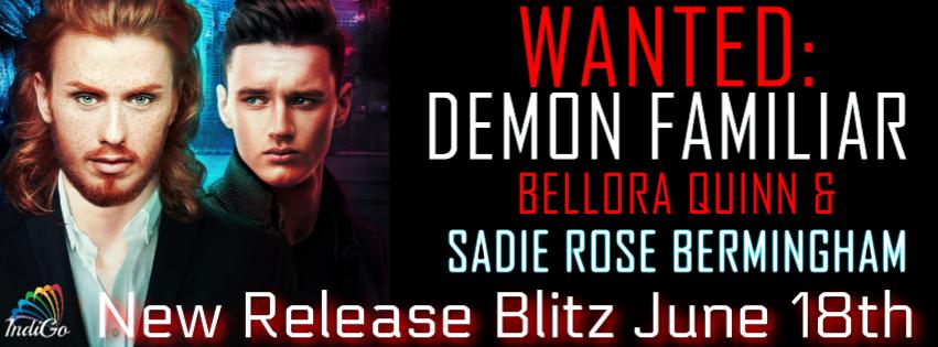 Release Blitz & Giveaway: Bellora Quinn and Sadie Rose Bermingham's Demon Familiar