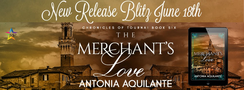 Release Blitz & Giveaway: Antonia Aquilante's The Merchant's Love