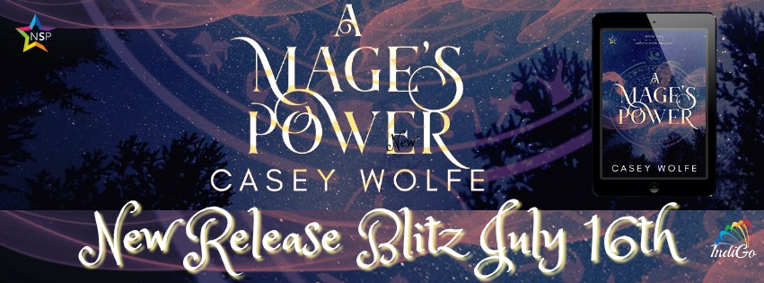 Release Blitz & Giveaway: Casey Wolfe's A Mage's Power