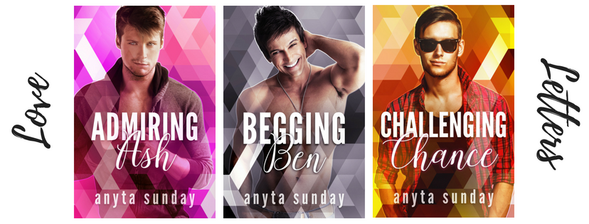 Release Blitz: Anyta Sunday's Love Letters: Novellas A-C