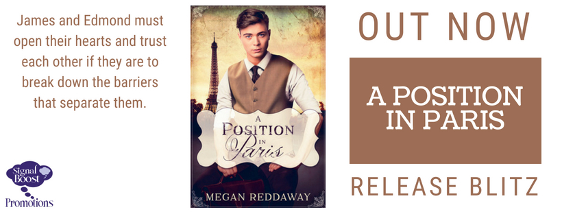 Release Blitz & Giveaway: Megan Reddaway's A Position in Paris