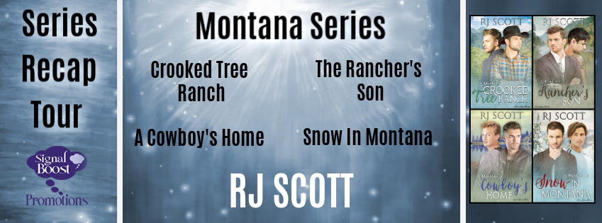 Series Spotlight & Giveaway: RJ Scott's Montana series