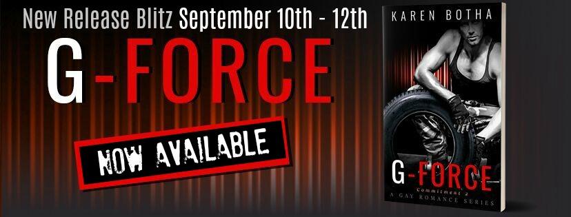 Release Blitz & Giveaway: Karen Botha's G-Force