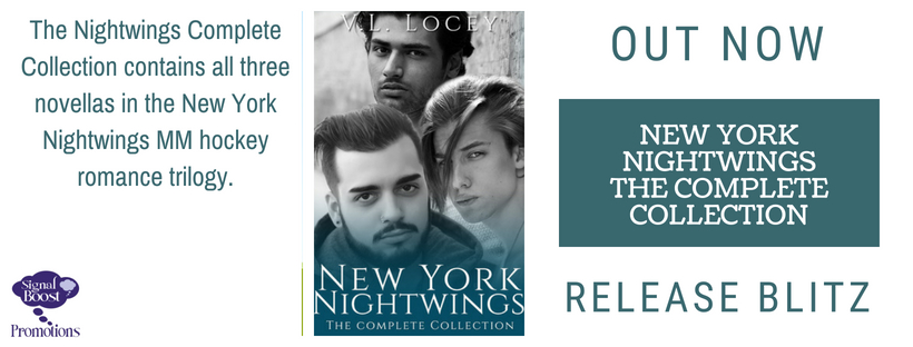 Release Blitz & Giveaway: V.L. Locey's New York Nightwings-The Complete Series