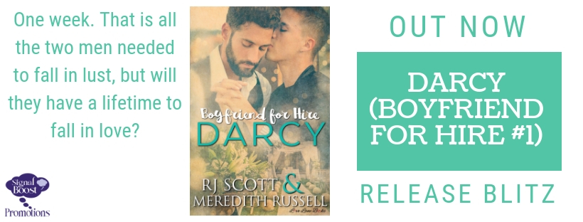 Release Blitz & Giveaway: RJ Scott & Meredith Russell's Darcy