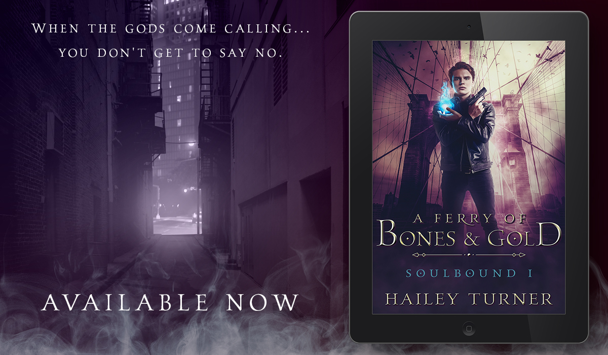 Release Blitz, Review, and Giveaway: Hailey Turner's A Ferry of Bones & Gold