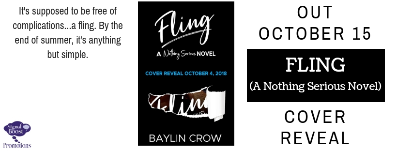 Cover Reveal & Giveaway: Baylin Crow's Fling