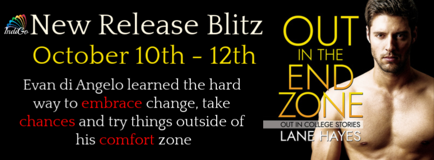 Release Blitz & Giveaway: Lane Hayes's Out in the End Zone