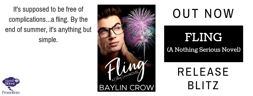 Release Blitz & Giveaway: Baylin Crow's Fling
