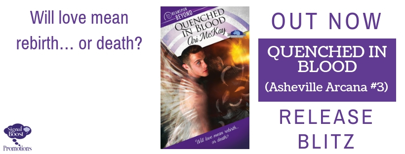 Release Blitz & Giveaway: Ari McKay's Quenched In Blood
