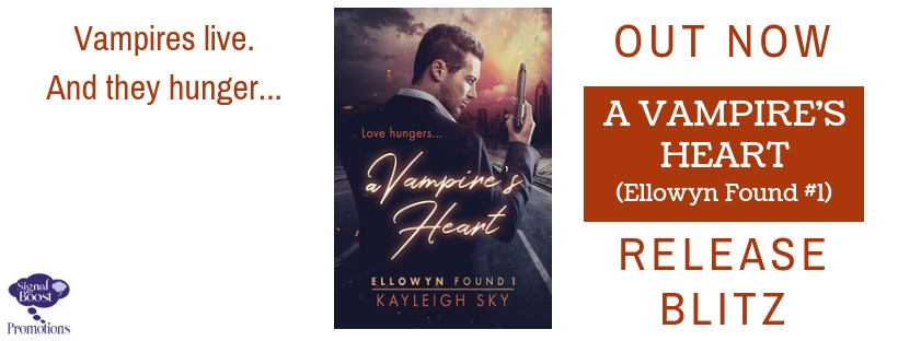 Release Blitz & Giveaway: Kayleigh Sky's A Vampire's Heart