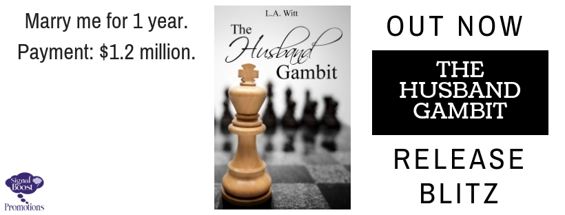 Release Blitz & Giveaway: L.A. Witt's The Husband Gambit