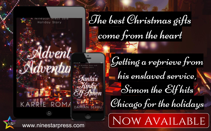 Release Blitz & Giveaway: Holiday Romances from Damian Serbu and Karrie Roman