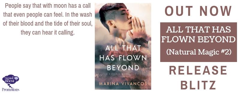 Release Blitz & Giveaway: Marina Vivancos's All That Has Flown Beyond