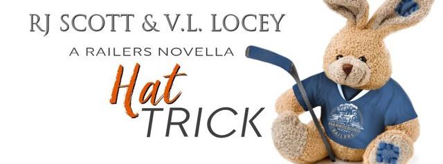 Release Blitz & Giveaway: Hat Trick by RJ Scott & V.L. Locey