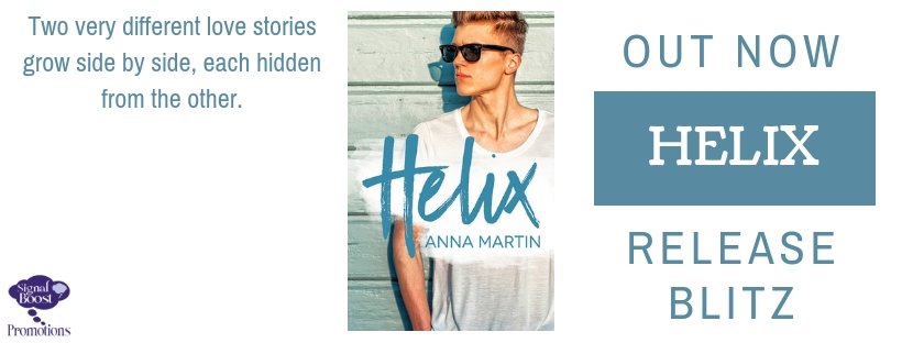 Release Blitz & Giveaway: Helix by Anna Martin