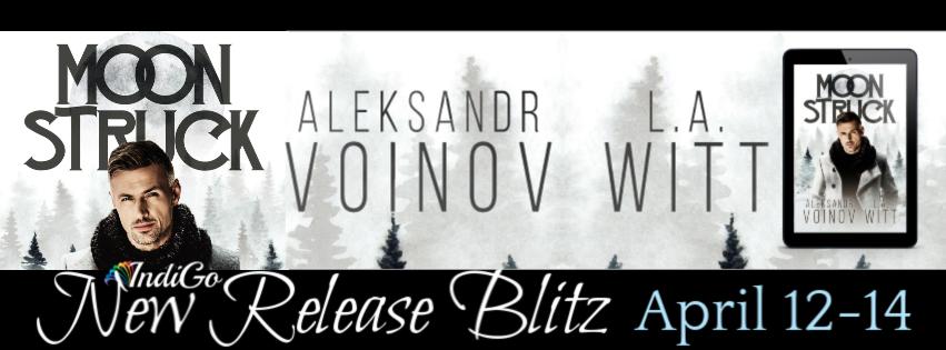 Release Blitz & Giveaway: Moonstruck by Aleksandr Voinov & LA Witt