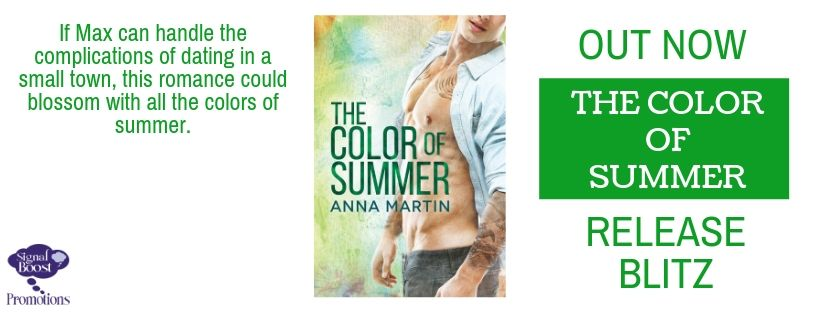 Release Blitz & Giveaway: The Color of Summer by Anna Martin