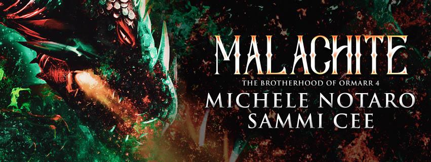 Release Blitz & Giveaway: Malachite by Sammi Cee & Michele Notaro