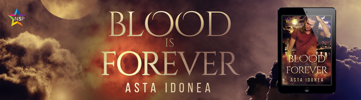 Release Blitz: Blood is Forever by Asta Idonea