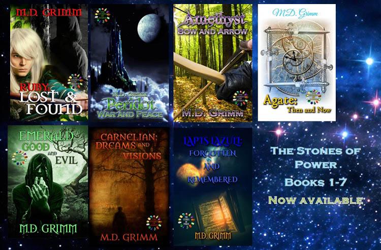 Series Spotlight: Stones of Power by M.D. Grimm