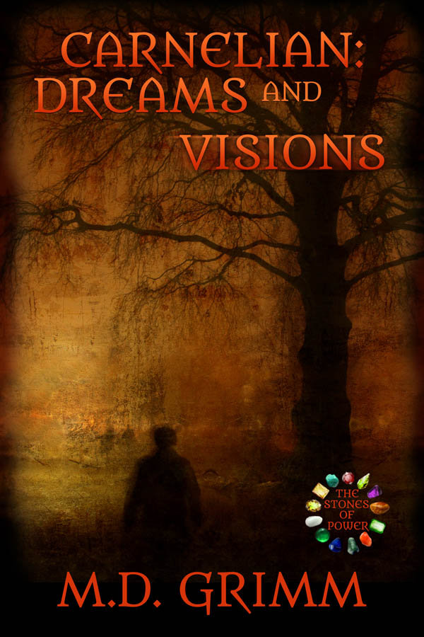 COVER Book 6 - Carnelian Dreams and Visions - The Stones of Power series