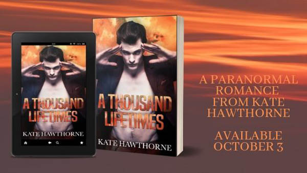 Release Blitz & Giveaway: A Thousand Lifetimes by Kate Hawthorne