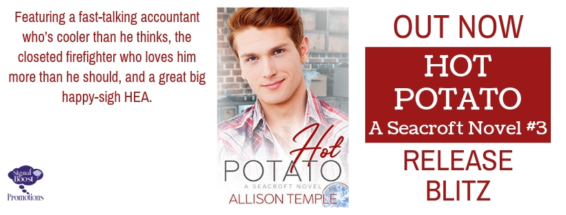 Release Blitz, Review & Giveaway: Hot Potato by Allison Temple