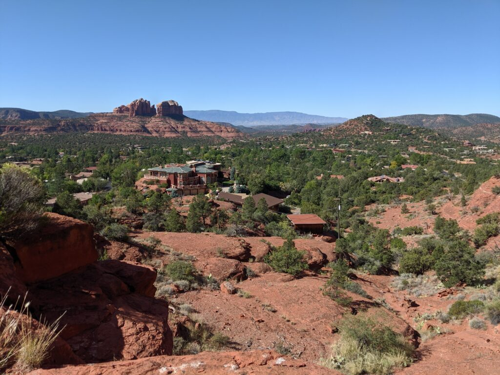 And Sedona, which is beautiful.