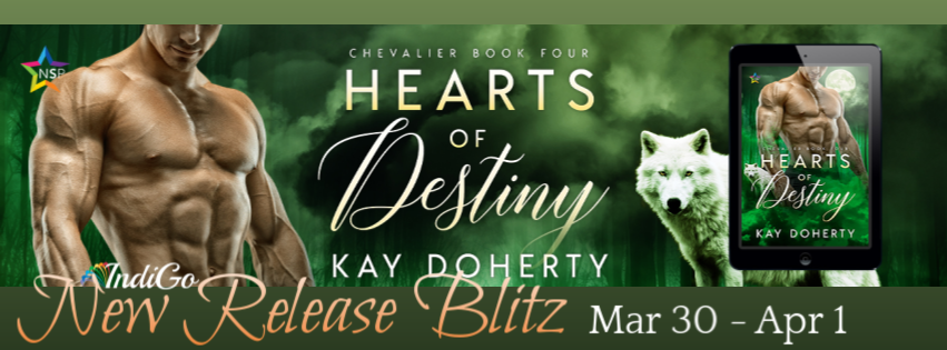 Release Blitz & Giveaway: Hearts of Destiny by Kay Doherty