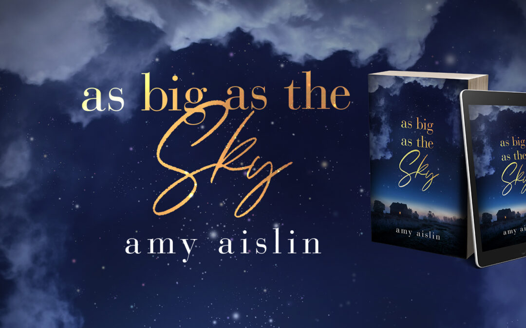 As Big as the Sky release day! Plus a giveaway!