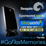 Seagate #GoFlexMemories is sponsoring me!
