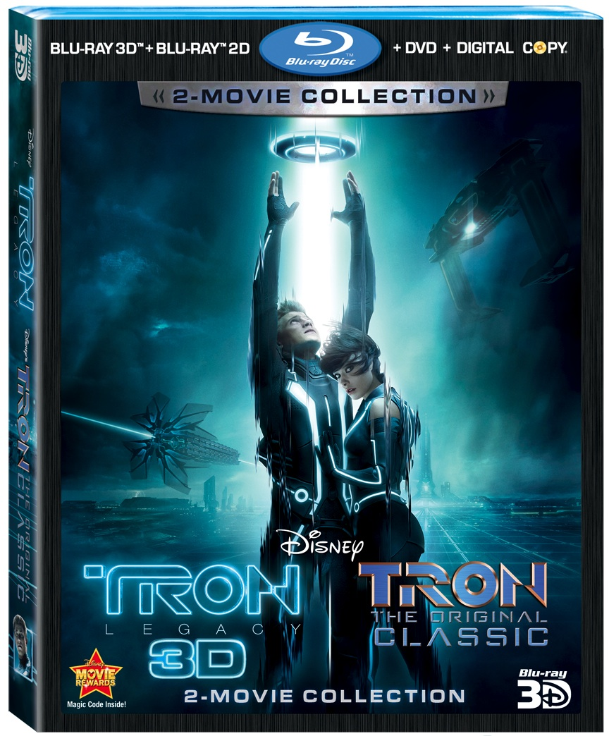 Giveaway: TRON: Legacy & TRON: The Original Classic 5-Disc 2-Movie Collection