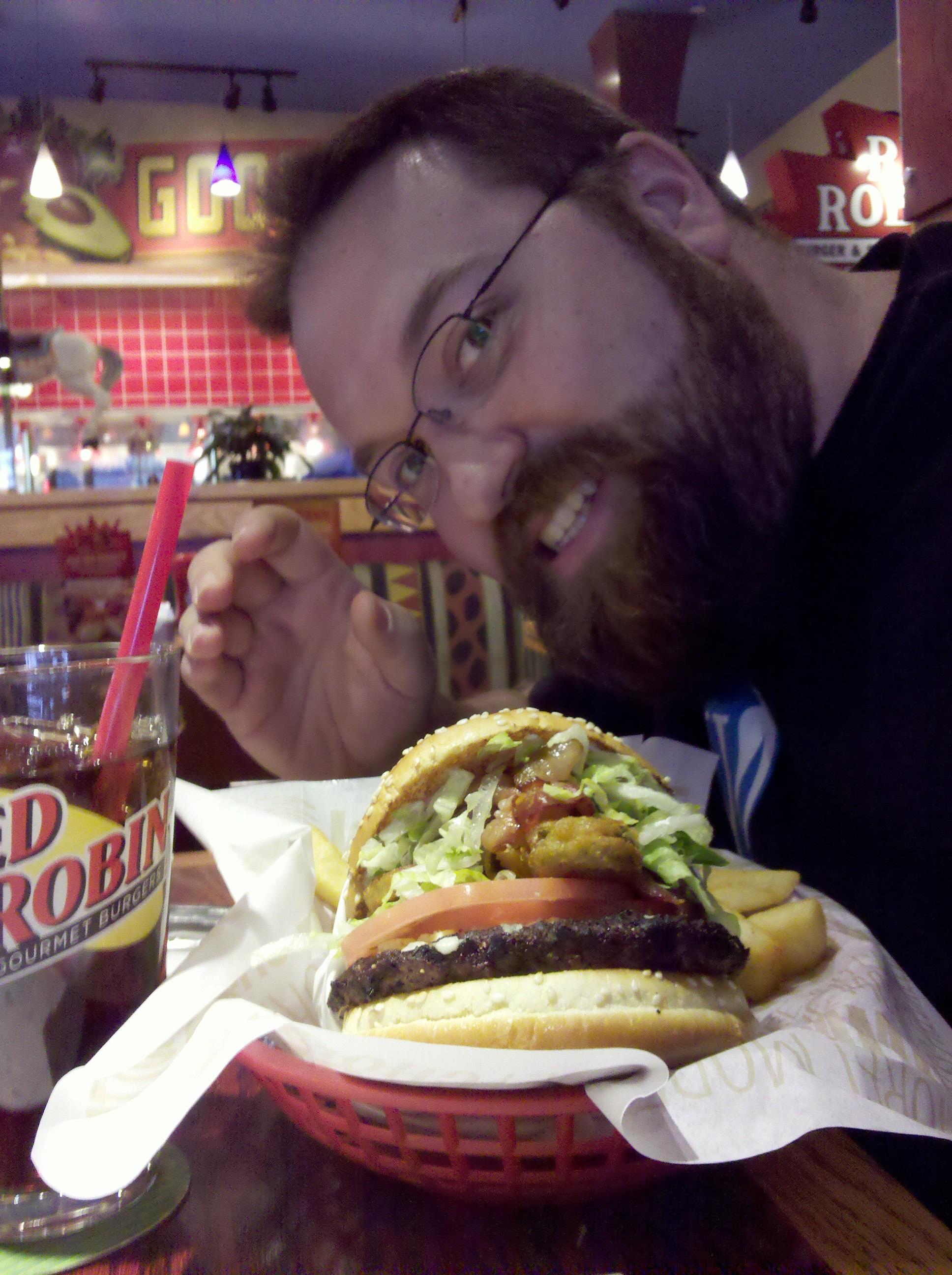 Birthday Burger at Patriot Place