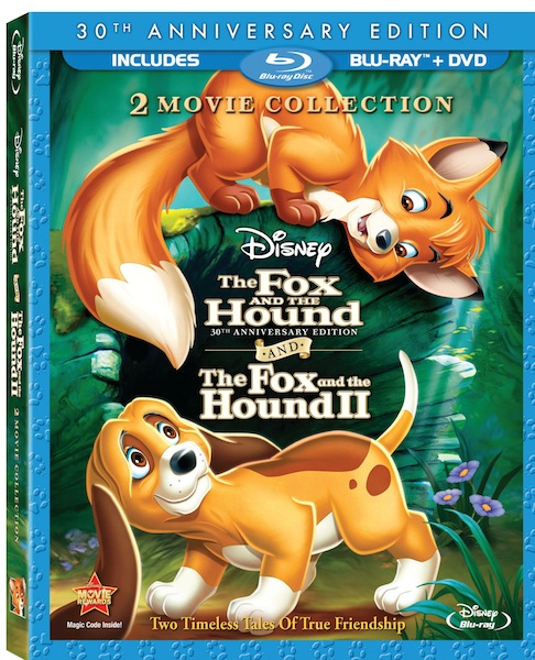 Review: The Fox and the Hound I and II on Blu-Ray