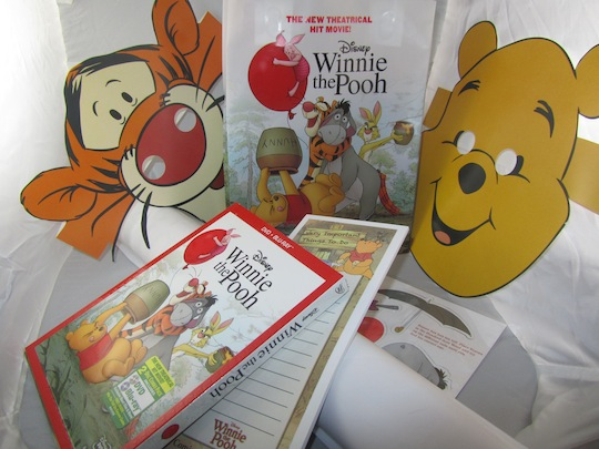 Winnie the Pooh Prize Pack