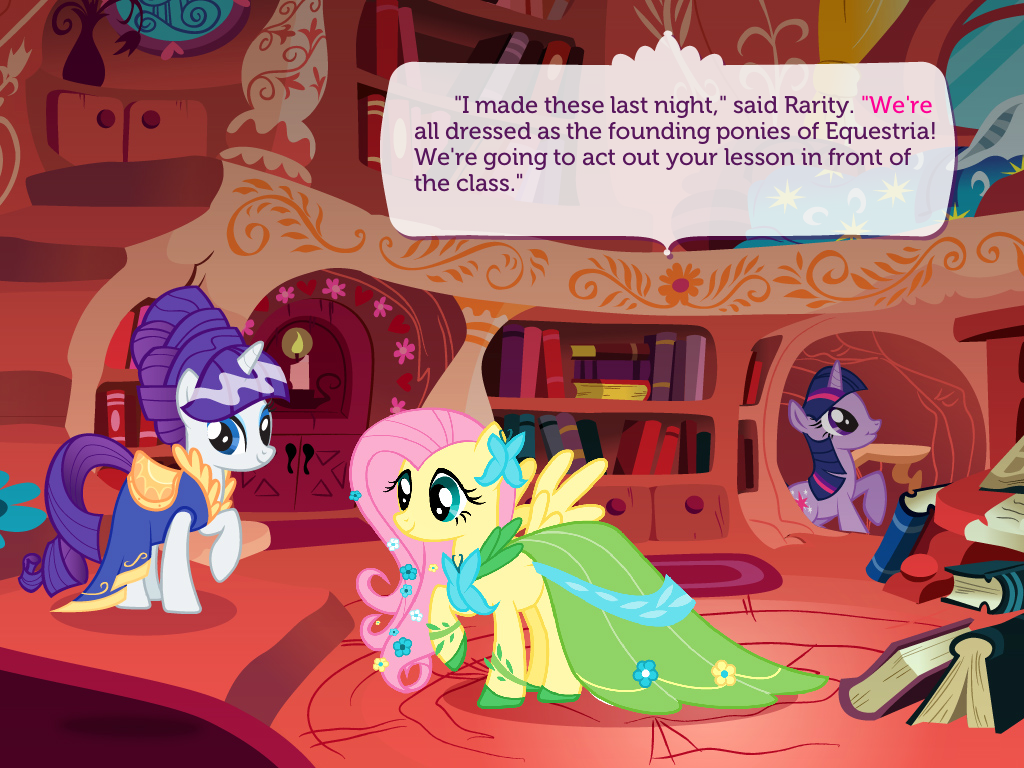 Review/Giveaway: My Little Pony: Twilight Sparkle, Teacher for a Day App