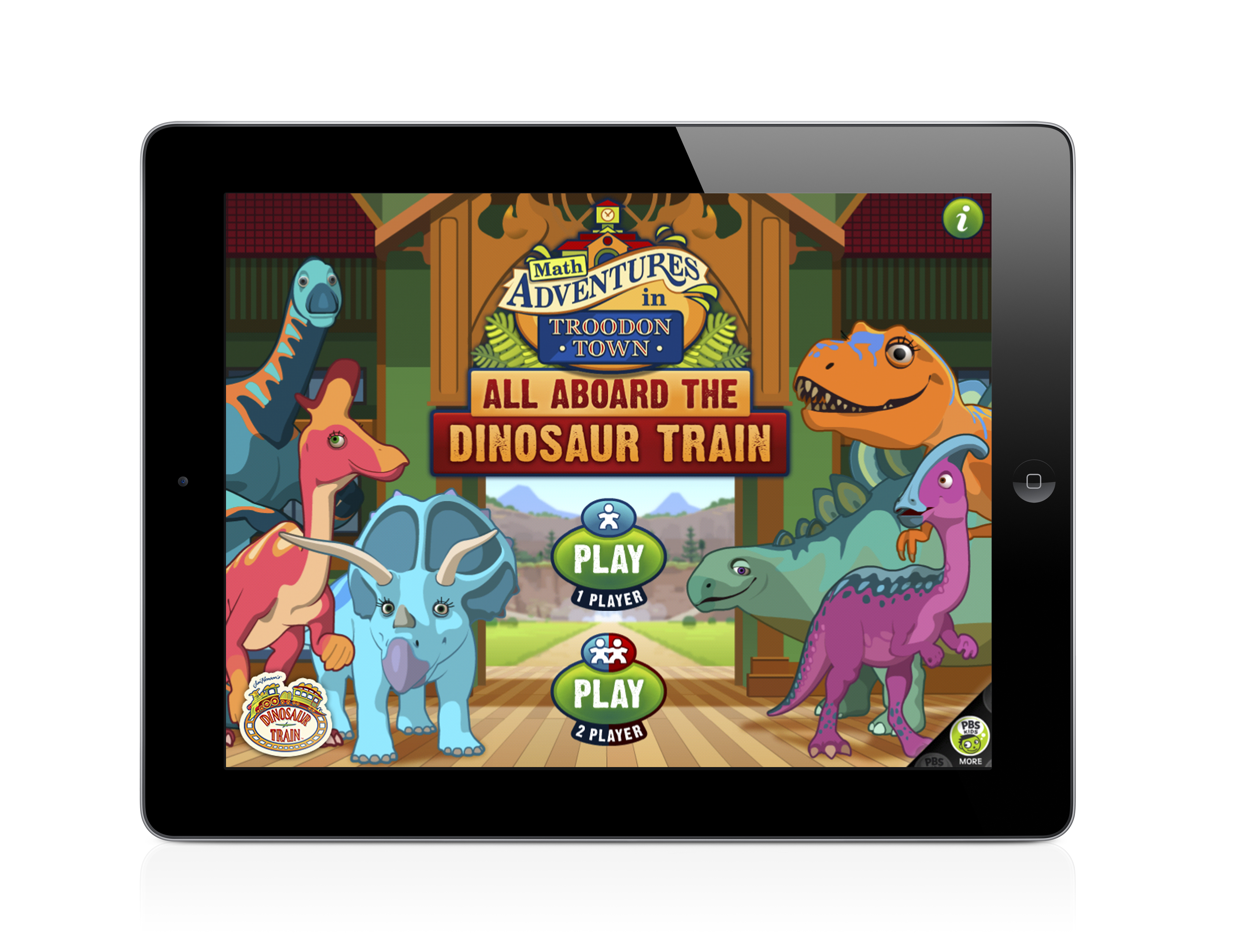 All Aboard the Dinosaur Train! App for iPad Review