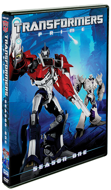 Win Transformers Prime Season One on DVD