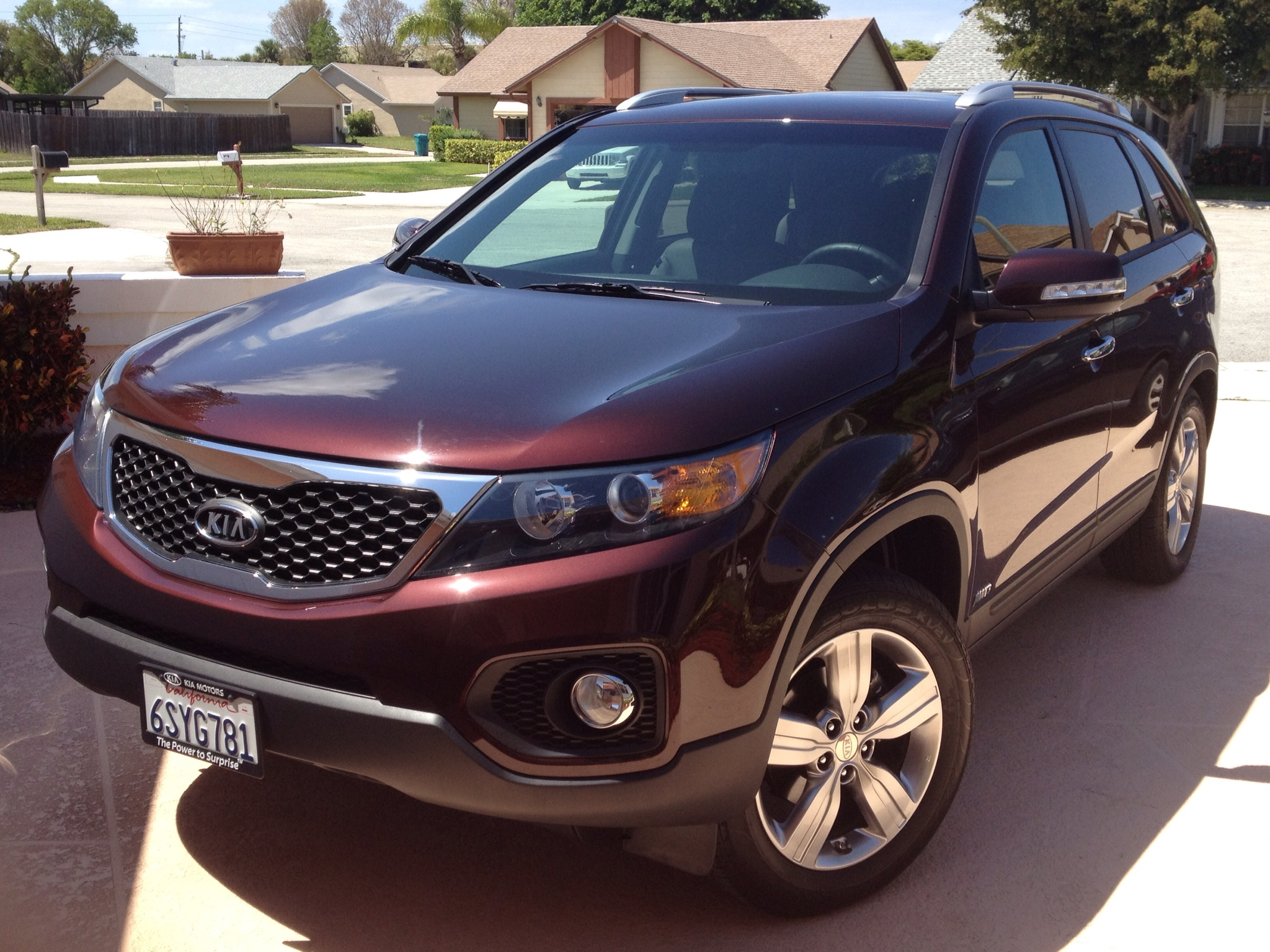 We Were, Temporarily, Kia Sorento Drivers and it was Great!