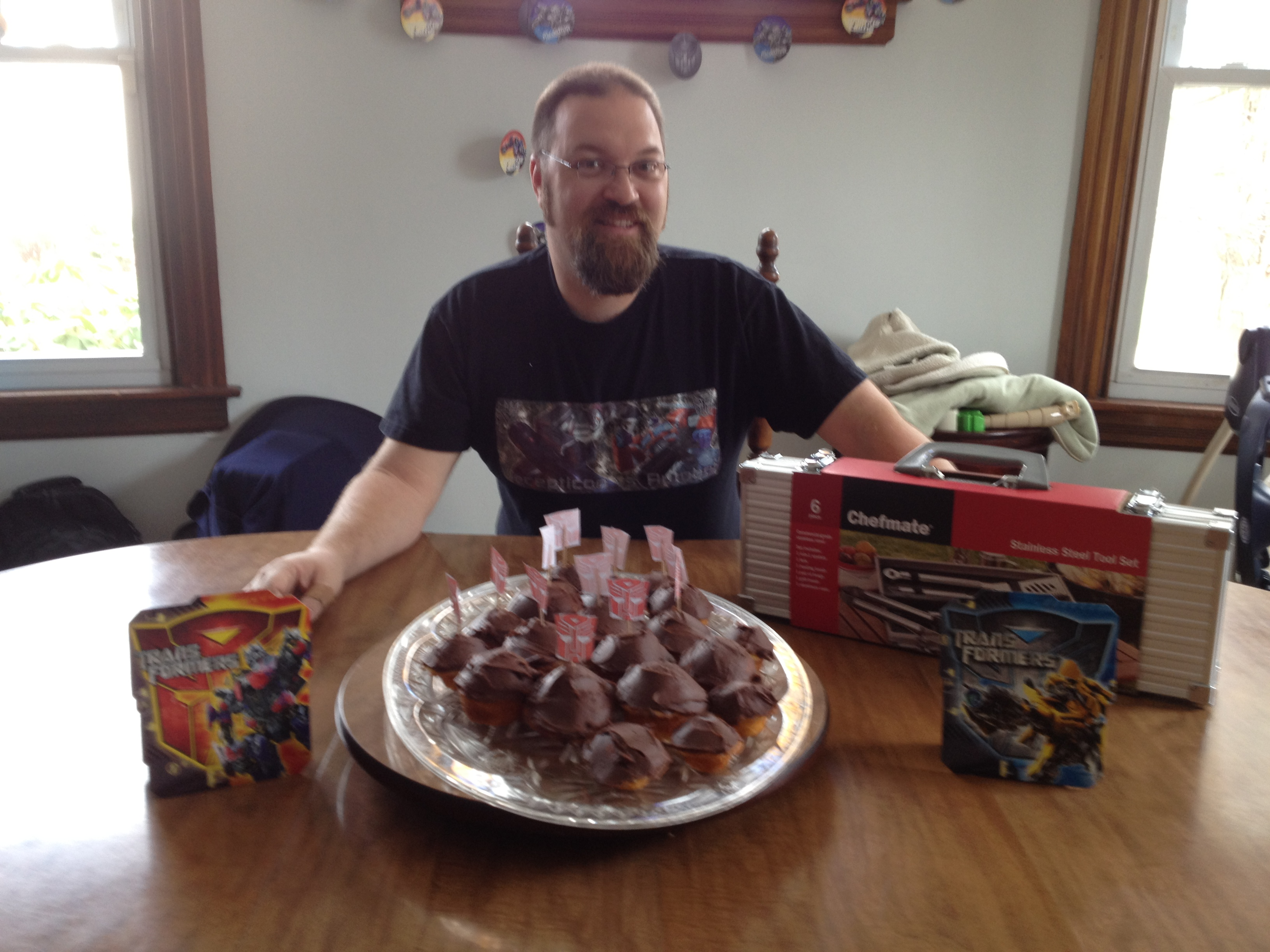 My Transformers Birthday Party. I'm 38
